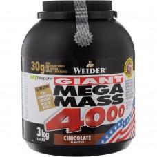 Гейнер Weider MEGA MASS 4000 3 кг
