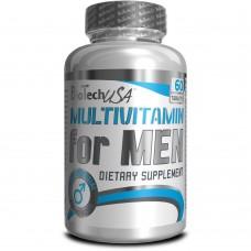 Витамины BioTech MULTIVITAMIN FOR MEN 60 tabs
