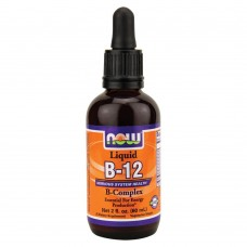 Витамины NOW Foods B 12 LIQUID B COMPLEX 60 мл