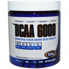 BCAA 6000 Gaspari Nutrition 180 таб