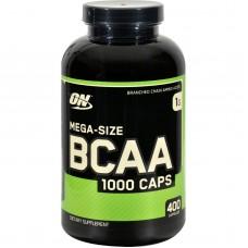 Optimum Nutrition MEGA-SIZE BCAA 1000 Caps 400 капс