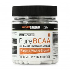 Pureprotein PURE BCAA 200 капс