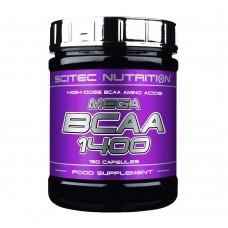 Scitec Nutrition MEGA BCAA 1400 180 капс