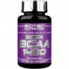 Scitec Nutrition MEGA BCAA 1400 90 капс