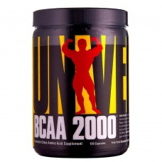 Universal Nutrition BCAA 2000 120 капс