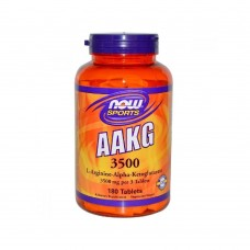 AAKG 3500 NOW Foods 180 таб