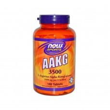 AAKG 3500 NOW Foods 180 таб