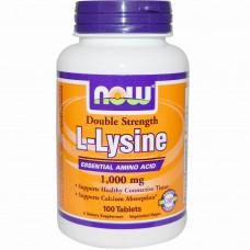 L-LYSINE 1000 mg NOW Foods 100 таб