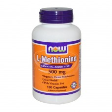 L-METHIONINE 500 mg NOW Foods 100 капс