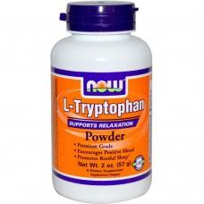 L-TRYPTOPHAN POWDER NOW Foods 57 гр
