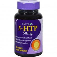 Natrol 5-HTP 50 mg 45 капс
