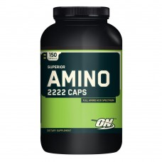 Optimum Nutrition SUPERIOR AMINO 2222 CAPS 150 капс