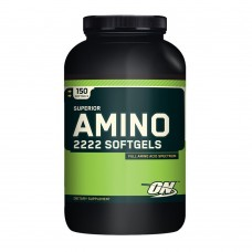 Optimum Nutrition SUPERIOR AMINO 2222 SOFTGELS 150 капс