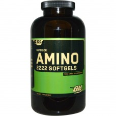 Optimum Nutrition SUPERIOR AMINO 2222 SOFTGELS 300 капс
