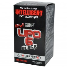 Жиросжигатель Nutrex LIPO 6 Black Ultra Concentrate 60 капс