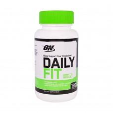 Жиросжигатель Optimum Nutrition DAILY FIT 120 капс