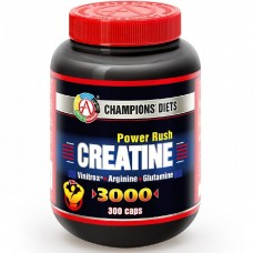 Креатин Академия Т Creatine Power Rush 3000 300 caps