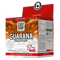 Спортивный энергетик aTech Nutrition GUARANA POWER SHOT DRINK 20 амп по 25 мл