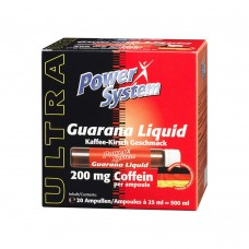 Спортивный энергетик Power System GUARANA LIQUID 20 амп по 25 мл