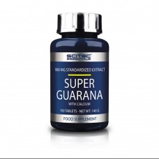 Спортивный энергетик Scitec Nutrition SUPER GUARANA 100 таб