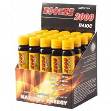 Спортивный энергетик Спортивные технологии КОФЕИН 2000 20 амп по 25 мл
