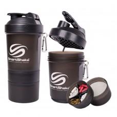 Спортивный шейкер SmartShake Original Gun Smoke 600 мл купить, фото