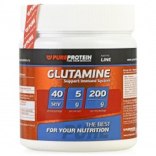 Глютамин L-GLUTAMINE Pureprotein 200 гр