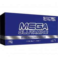 Глютамин MEGA GLUTAMINE Scitec Nutrition 120 капс