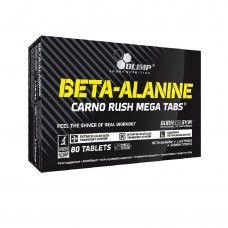 Спортивная добавка Olimp BETA ALANINE CARNO RUSH 80 таб