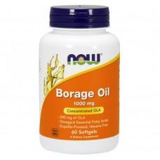 Спортивная добавка NOW Foods BORAGE OIL 1000 mg 120 softgels