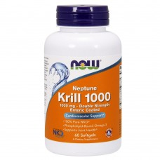 Спортивная добавка NOW Foods KRILL OIL NEPTUNE 1000 mg 60 softgels