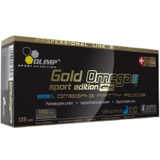 Спортивная добавка Olimp GOLD OMEGA 3 SPORT EDITION 120 капсул