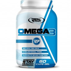 Спортивная добавка Real Pharm OMEGA 3 1000 мг 60 таб