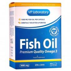 Спортивная добавка VP laboratory FISH OIL 1000мг 60 капс