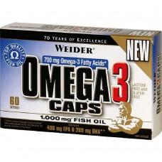 Спортивная добавка Weider OMEGA 3 60 caps