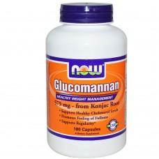 Спортивная добавка NOW Foods GLUCOMANNAN 180 капс