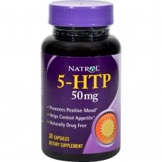 Спортивная добавка Natrol 5-HTP 50 мг 30 капс