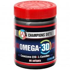 Спортивная добавка Академия Т OMEGA 3D 90 капсул