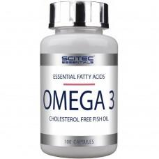 Спортивная добавка OMEGA 3 Scitec Nutrition 100 капс