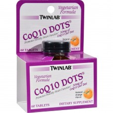 Спортивная добавка Twinlab CoQ10 Dots 60 таб