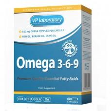 Спортивная добавка VPlab OMEGA 3 6 9 60 капс